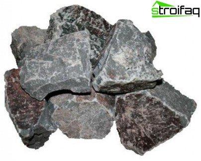 Порфирит - камък за бани