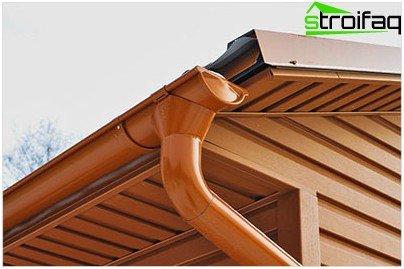 Spillway - en vigtig detalje på taget