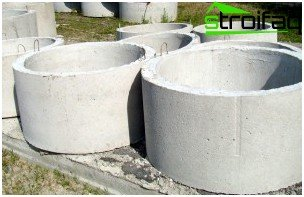 So concrete rings for a well look