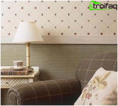 Combinación horizontal de papel tapiz