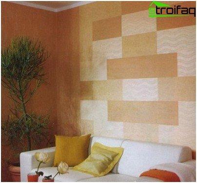 Método de combinación de papel tapiz patchwork