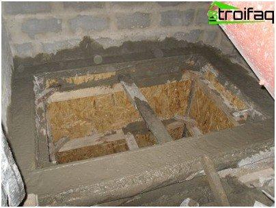 заливка бетону