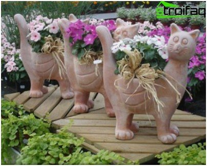 видове саксии за цветя