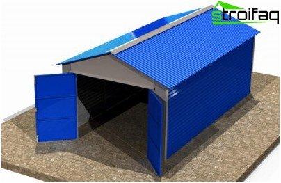 Metal Garage-projekt