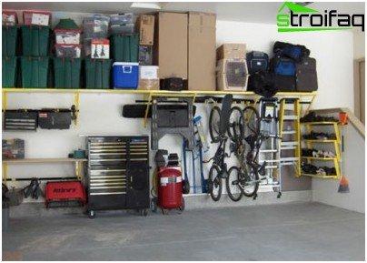 Garageindretning