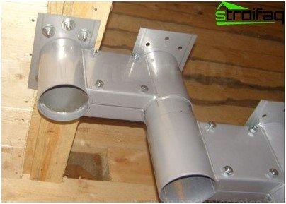 Модулните стълби са направени от модули