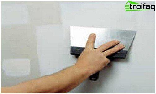التشطيب - الخطوة الأخيرة في تركيب الحوائط الجافة بيديك