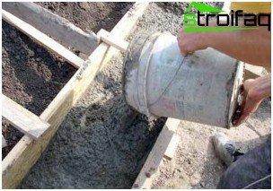 Hældning af betonforskaling