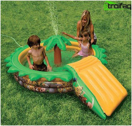 Inflatable pools - which one to choose, how to install and repair