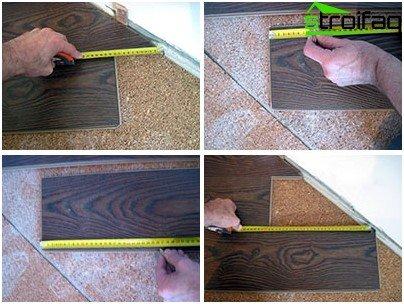 Cómo cortar el panel de borde