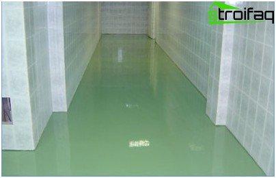 Støvet betongulv - ideelle hygiejniske, operationelle og tekniske kvaliteter