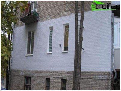 Стена, изолирана отвън с течна керамична изолация