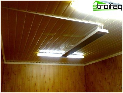 Инфрачервени нагреватели за гараж