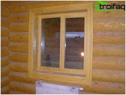 Glued timber Eurowindow