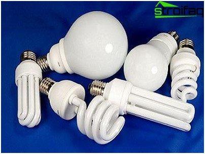 Energibesparende lamper