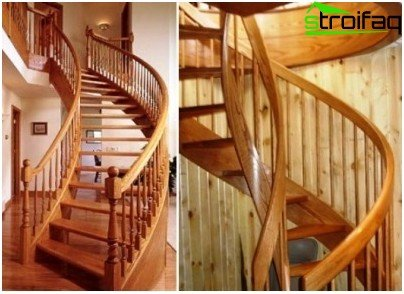 Do-it-yourself cladding of stairs with wood