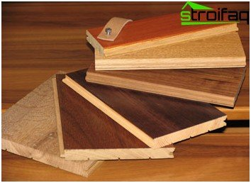 Types of parquet board