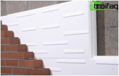 спінений пінополістирол як утеплювач зовнішньої стіни