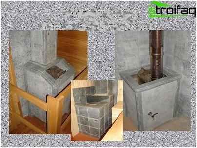 Talcchloritovne - beklædning og specifikationer for det bedste materiale til ovne