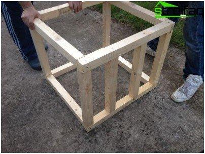 صندوق الأخشاب