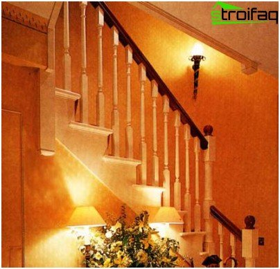Wooden balusters on a wooden staircase can be installed with your own hands, following simple rules and having the knack