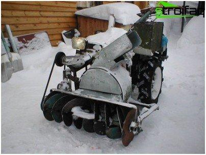 soplador de nieve