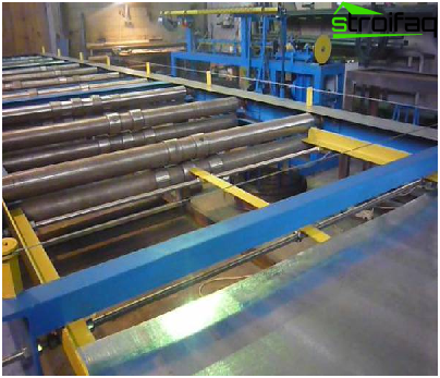 Production of corrugated board