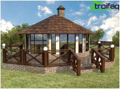 bygning i landlig stil