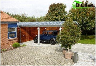 Transparentes Dach