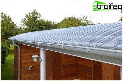 Lichtdurchlässiges Dach