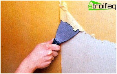 Metoder til fjernelse af maling fra loftet