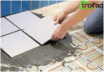 Подготовка на основата за полагане на плочки