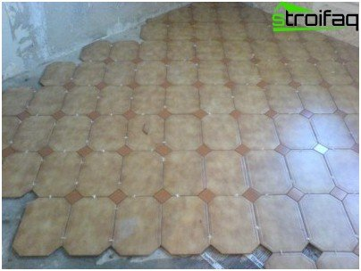 Схеми и методи за полагане на плочки на пода
