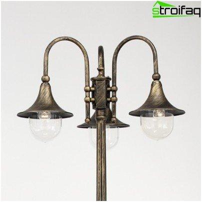 лампа за градински чай