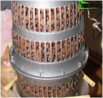 Expandierter Luftbefeuchter aus Ton
