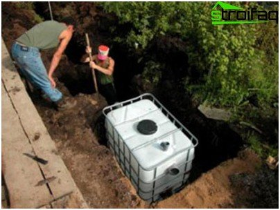 Do-it-yourself septic tank