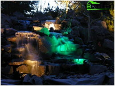 연못을 밝히는 방법