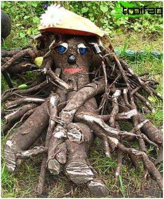 de madera flotante