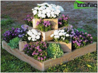 Zaun für Blumenbeete