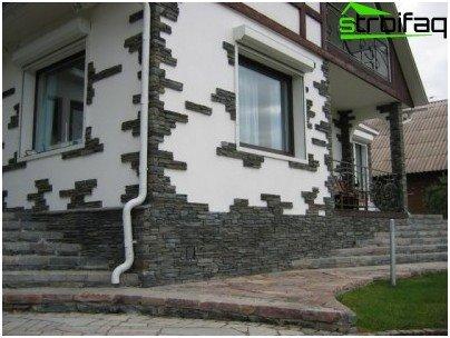 облицювання стін каменем