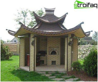 Chinese arbor
