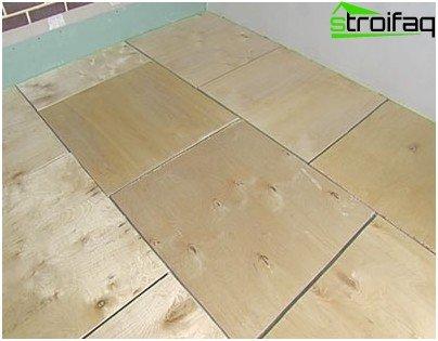 Basis - Vorhandener Holzboden