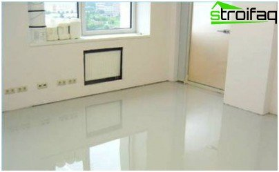Polished concrete floors fit into any interior
