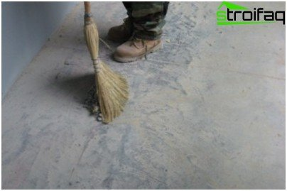 An important step in sanding the floor - preparation