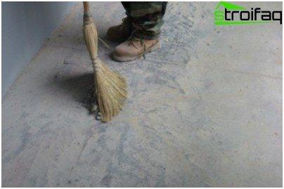 Важливий етап шліфування підлоги - підготовка