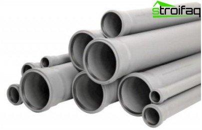 Arten von Rohren für die Fußbodenheizung
