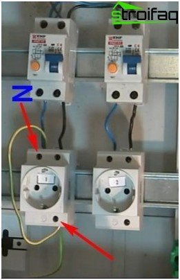 Typical errors made when connecting an RCD