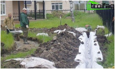 how to do drainage