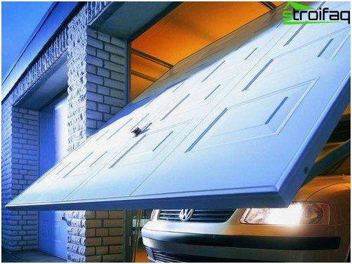 Le principali funzioni delle porte da garage e dei loro tipi