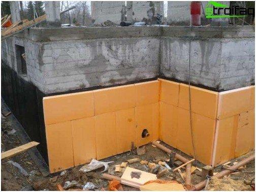 Basement insulation
